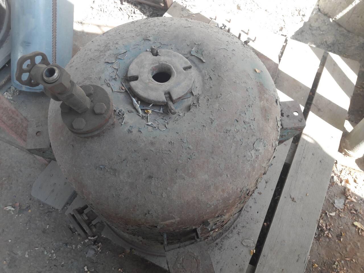 Реактор СЕРН лабораторный эмалированный 120 литров