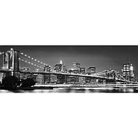 Фотообои Komar Бруклинский мост черно-белый XXL2-320