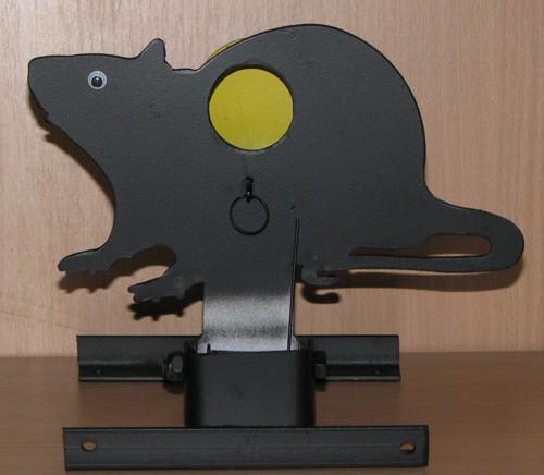 Металлическая мишень «Крыса» - Интернет — магазин пневматики «Archerbow» в Харькове