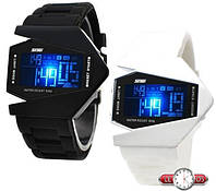 Электронные мужские наручные часы LED Air Stils в виде самолета