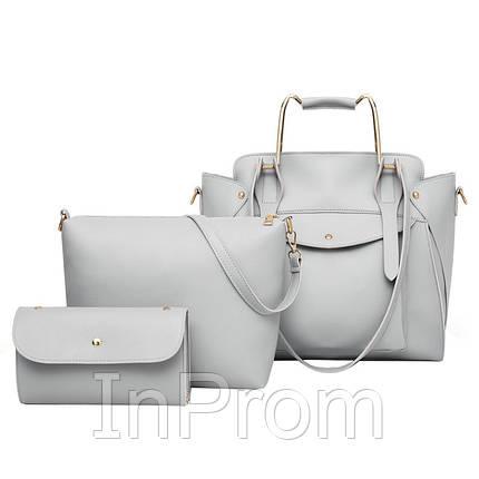 0a4b28836d3b Набор сумок 3 в 1 Amali Cat Gray: продажа, цена в Киеве. женские ...