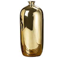 Ваза Гламур золотая керамика h35см Гранд Презент 1005887