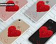 Силиконовый чехол для Meizu M6 Note Большое сердце (21032-3004), фото 6