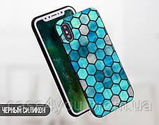 Силиконовый чехол для Meizu M6 Note Цветные ромбы (21032-3008), фото 3