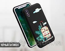 Силиконовый чехол для Meizu M6 Note Чемодан (21032-3001), фото 3