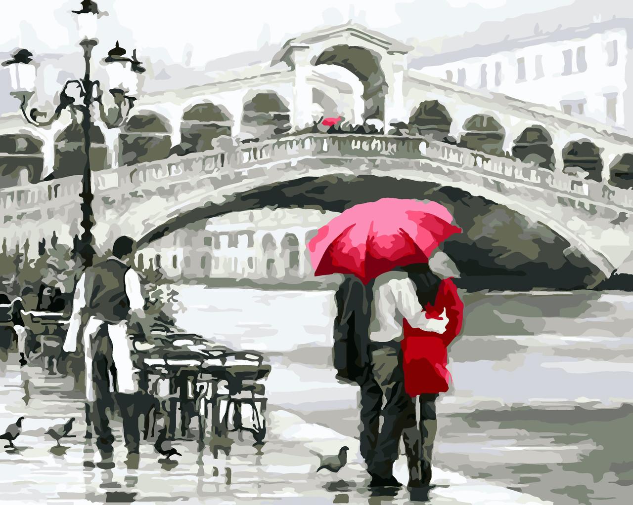 Художественный творческий набор, картина по номерам Свидание в Венеции, 50x40 см, «Art Story» (AS0044)