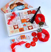 """Эротический набор """"Любимому"""" с шоколадками, фото 1"""