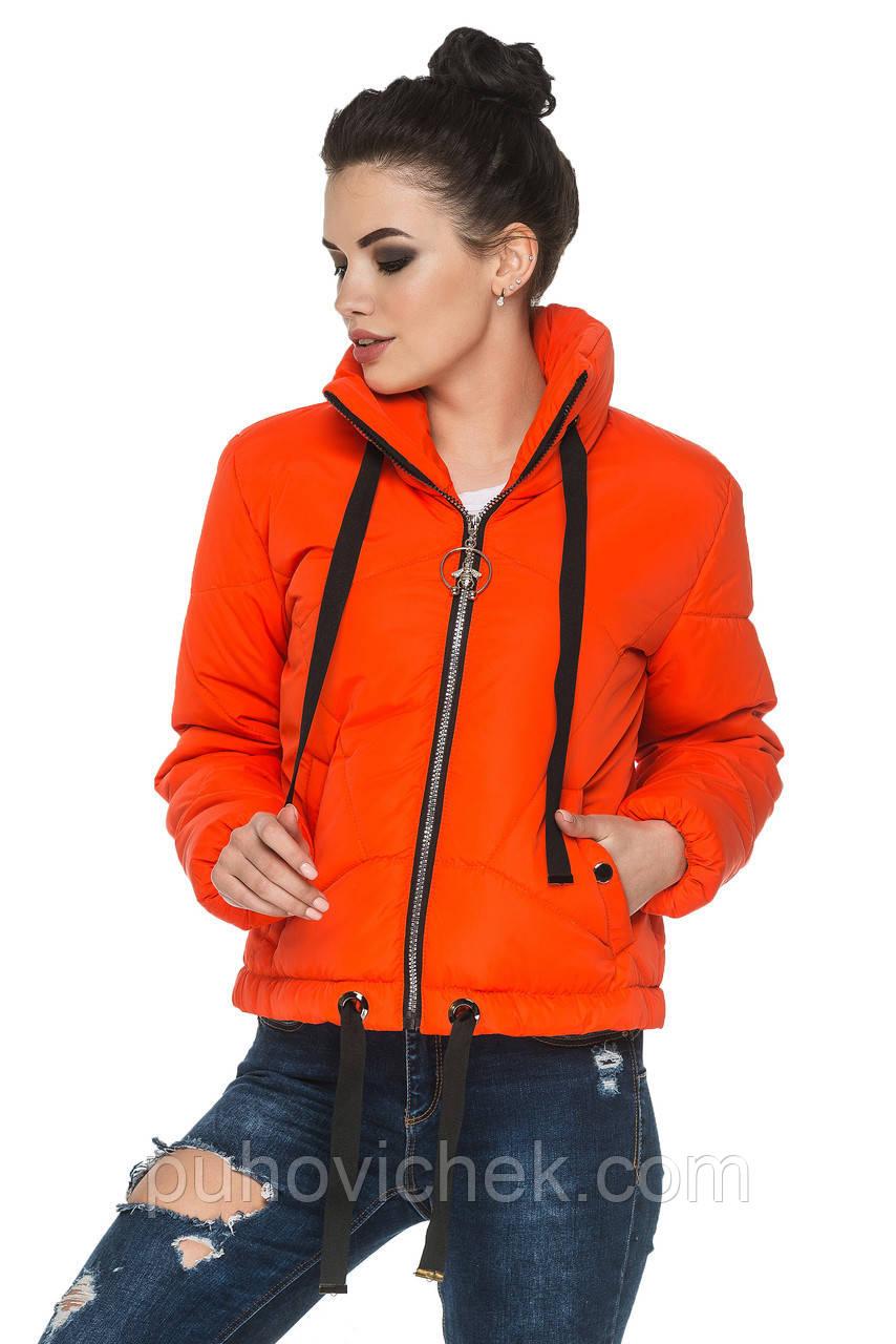 Весенние женские курточки молодежные короткие