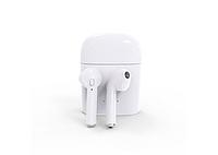 Стерео гарнитура Bluetooth аналог AirPods i7s с кейсом Power Bank
