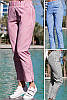 Летние брюки в полоску Паула 48-60рр, фото 4
