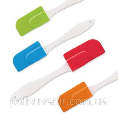 Силіконова кухонна лопатка кольорова