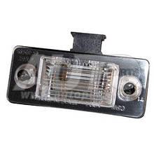 Плафон освітлення номерного знака Fabia 2000-2010 до номера кузова -5J-83007 501 TYC(Tchaj-wan)