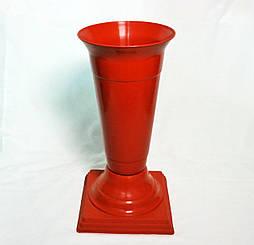 Флакон на ножке Терракотовый диаметр 18 см 2,2 литра для цветов