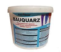 BAUQUARTZ Грунтовочная краска c кварцевым наполнителем(кварц-грунт) для микроцемента,штукатурки