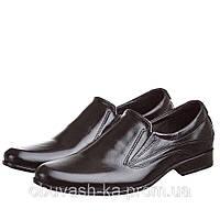 Мужские кожаные весенние туфли AVA