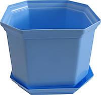 Вазон Дама 16 2,45 л синій