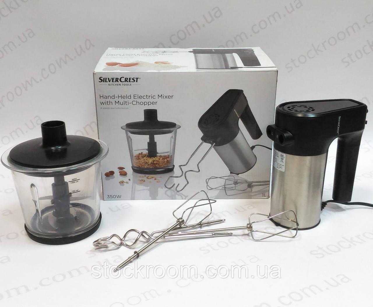 Электрический миксер с измельчителем Silver Crest SHMM 350 A1 ручной