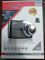 Відеореєстратор Anytek G66 (Сріблястий)