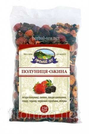 Полуниця-ожина-сухі плоди і ягоди 250г.