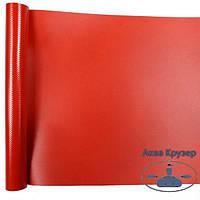 Човнова тканина ПВХ, шматок розмір: 25 см х 20 см, колір червоний - для ремонту надувних човнів ПВХ