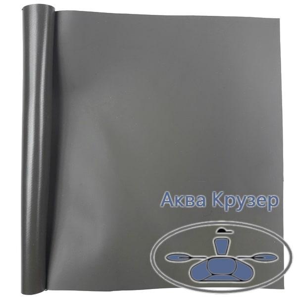 Лодочная ткань ПВХ, кусок размер: 15 см х 20 см, цвет болотный - для ремонта надувных лодок ПВХ