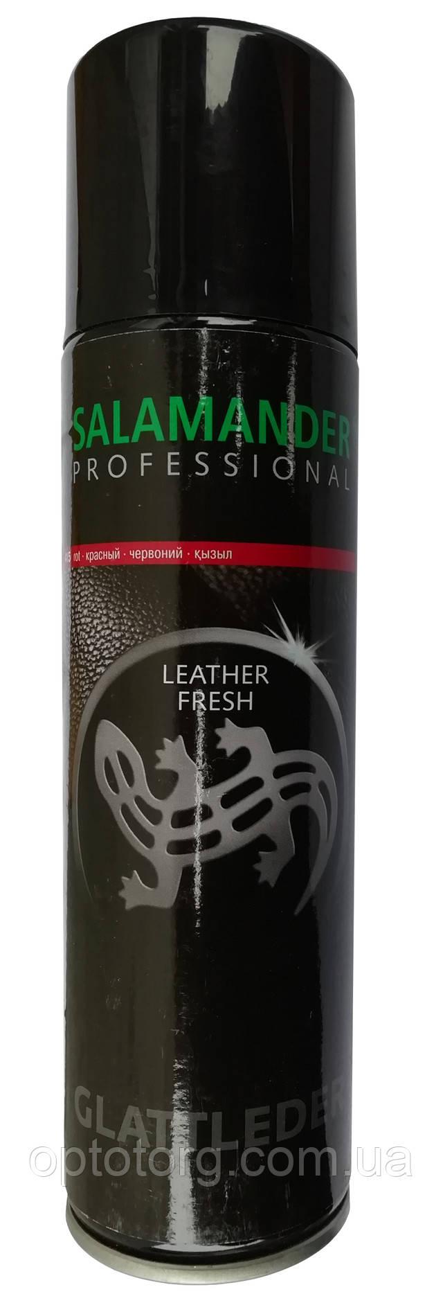 Фарба червона для гладкої шкіри Саламандра Професионал Salamander Professional