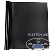 Лодочная ткань ПВХ, кусок размер: 15 см х 20 см, цвет черный - для ремонта надувных лодок ПВХ, фото 1