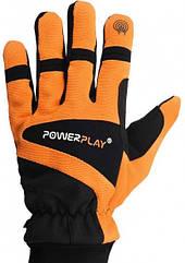 Перчатки PowerPlay 6906/M/ orange зимние