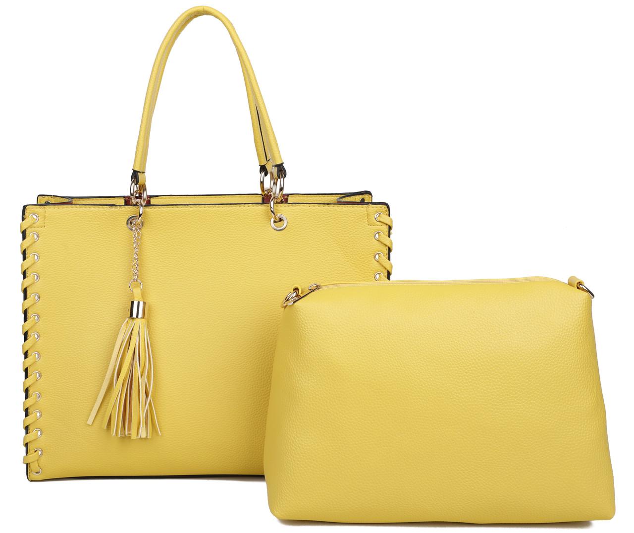 8cdb01689419 Женская сумка 1598 yellow купить сумку женскую недорого - Интернет магазин