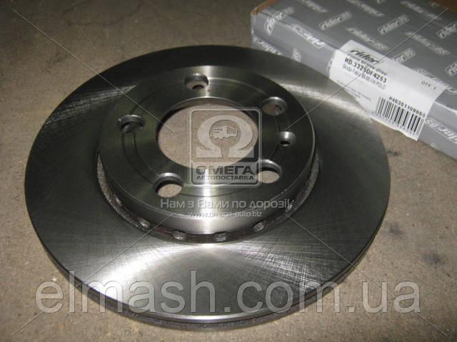 Диск тормозной SKODA FABIA 99-08, VW POLO передний (RIDER)