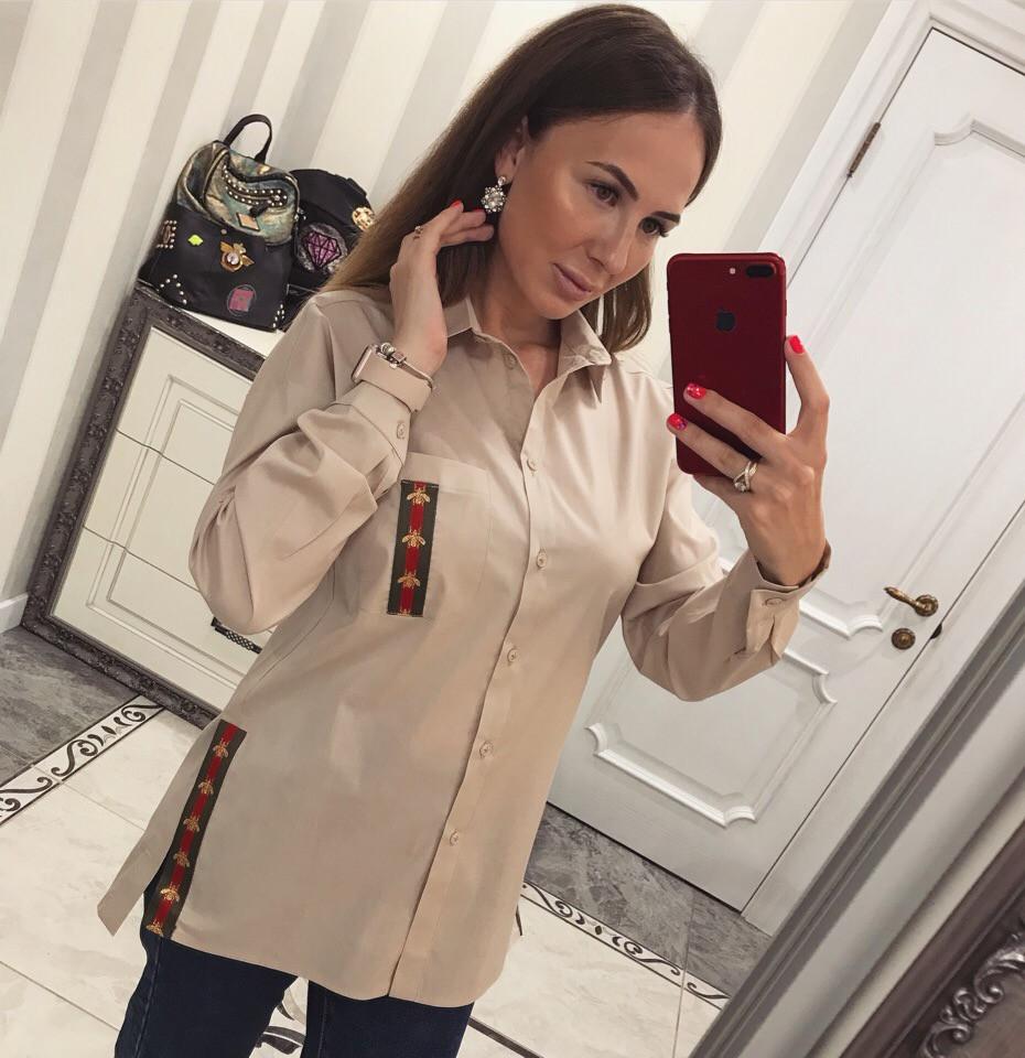 """Рубашка женская из коттона """"Tommy"""""""