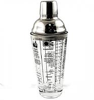 Шейкер Unique UN-2102(400ML) стекло