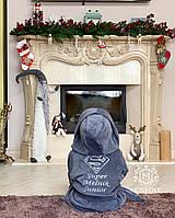 Детский махровый халат с именной вышивкой, фото 1