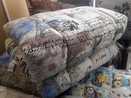 """Двуспальное силиконовое одеяло """"Париж"""" 172х205, фото 2"""