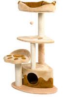 """Дряпка  для стачивания когтей для кошек """"Городок Угловой""""  120см. """"Природа""""™, фото 1"""