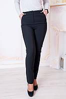 Молодежные брюки Валенсия байка черные