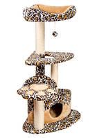 """Дряпка  для стачивания когтей для кошек """"Городок Угловой""""  120см. """"Природа""""™ Жаккард"""