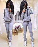 Жіночий модний теплий костюм на флісі: батник і штани (4 кольори), фото 4