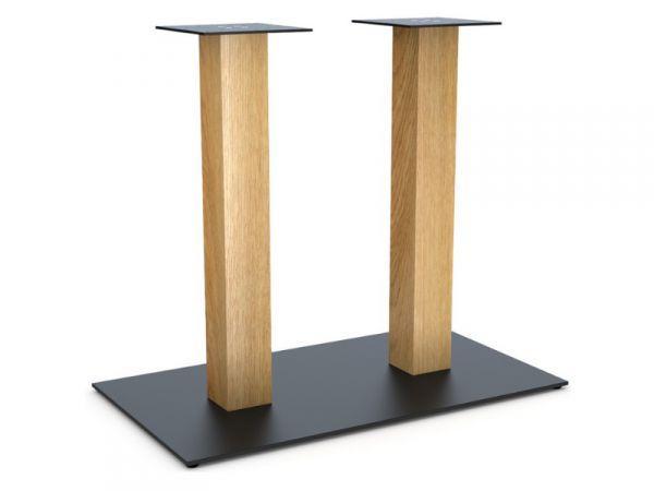 Опора для стола Двойная Wood