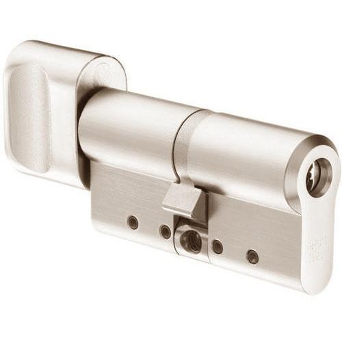 Цилиндр Abloy Protec 2 HARD 128 (47х81) S-L закаленный ключ-тумблер