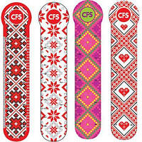 "Закладки Cool for school CF69111-01 4шт пластиковые ""Vyshyvanka"""