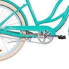 Городской велосипед Dorozhnik Cruise 26 дюймов бирюзовый, фото 5