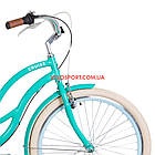 Городской велосипед Dorozhnik Cruise 26 дюймов бирюзовый, фото 2