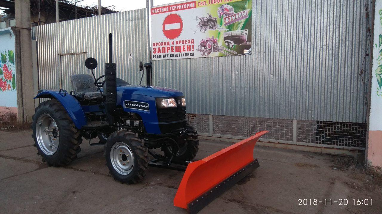 Отвал для трактора ДТЗ 5244, отвал 2 м