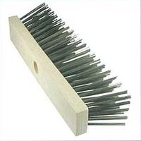 Подметательная щётка-кисть OSBORN, T-75мм, L-300мм, В-60мм, плоская проволока 0,75х0,25 мм