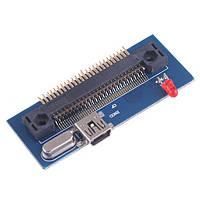 Адаптер 1.8 ZIF IDE HDD CF 50 pin ― mini USB 3.0 2.0 1.1 LED cветодиодный индикатор активности Compact Flash F