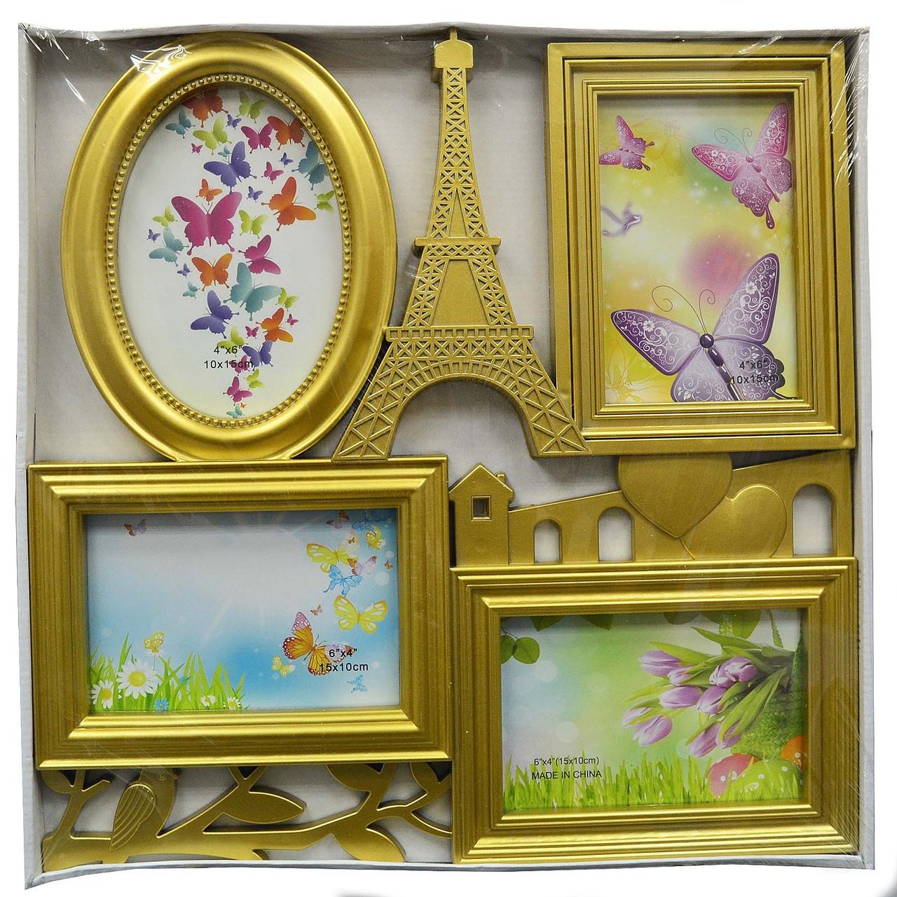 "Мультирамка ""PARIS"" — Фоторамка коллаж на стену"