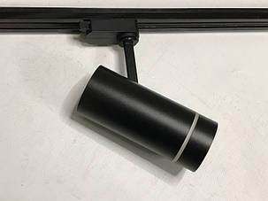 Трековый led светильник AL-106 18W 4000К черный Код.59443, фото 2