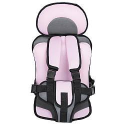 Детское бескаркасное автокресло Child Car Seat Pink