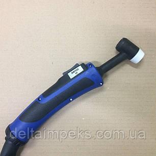 Сварочная горелка ABITIG 17 GRIP, 4м подача газа кнопкой, фото 2